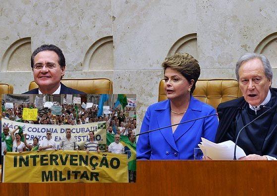 Diante da revolta com a corrupção, aumenta o número de adeptos da Intervenção Militar no Brasil