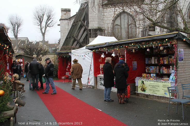 Noël à Provins - Le village de Noël - Photo UCP de Provins