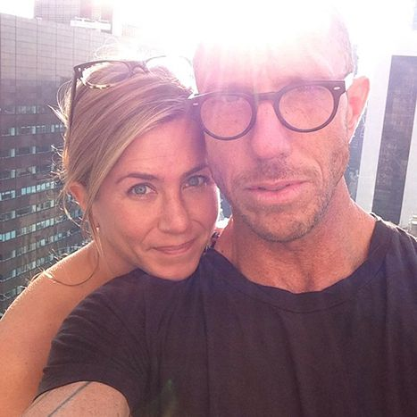 Jennifer Aniston goes without makeup in Chris McMillan's Instagram shot!