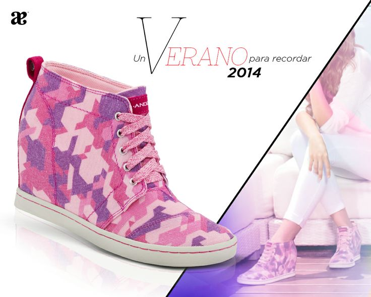 Los #sneakers del #verano son de #Andrea #pink #summer