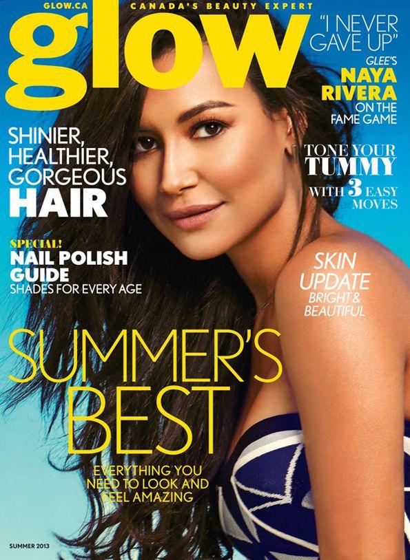 Naya Rivera for Glow Magazine, Summer 2013
