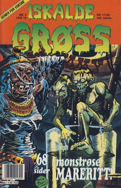 Cover for Iskalde Grøss (Semic, 1982 series) #3/1992