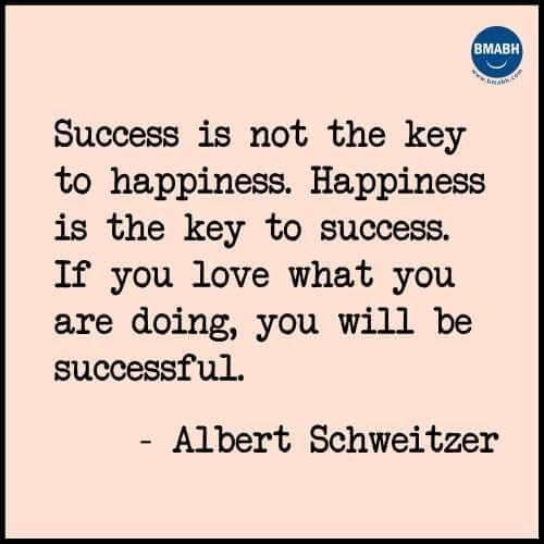 Inspirational Quotes About Success And Happiness