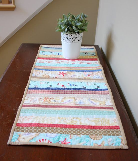 1000 images about quilt as you go on pinterest runners for Easy diy table runner