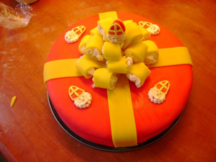 #taart #sinterklaas #cake