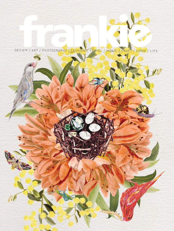 Frankie :: the details are insane. Little gems in a birds nest? Marbled moth wings? Love it.