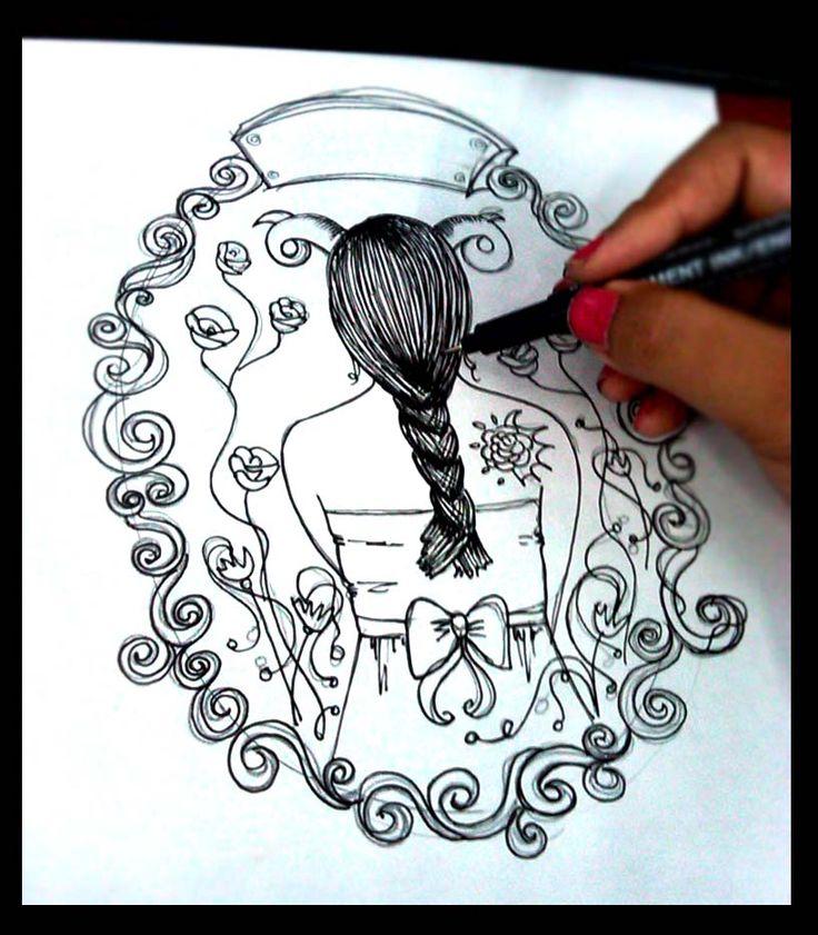 Aries illustration - Zodiac Illustration by laras ajeng