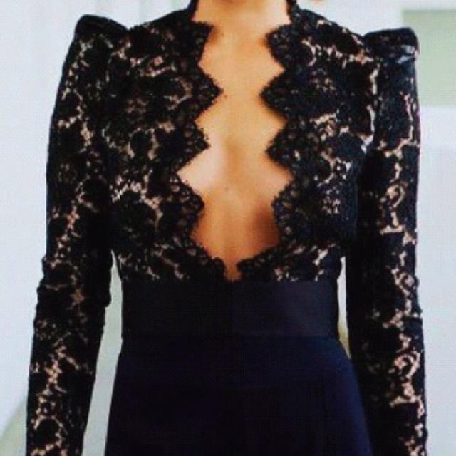 black lace - Stella McCartney
