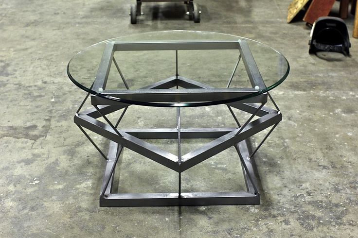 My Custom Crafted Metal And Wood Tables And Shelves The