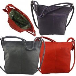New Genuine Premium Cowhide Leather Convertible Multi Colours Shoulder Bag and Backpack LZ41011