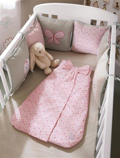 Tour de lit bébé modulable copinette ROSE - vertbaudet enfant 52€