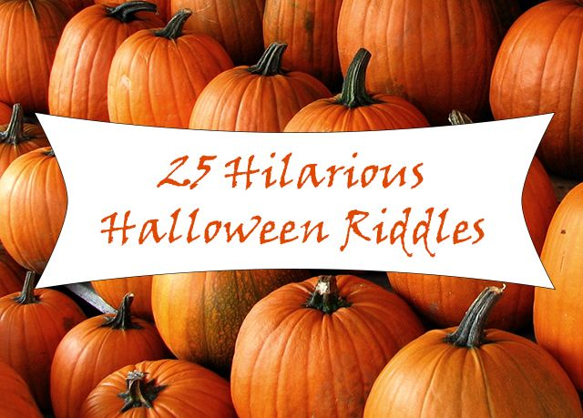 25 Hilarious Halloween Riddles! - http://thiswestcoastmommy.com