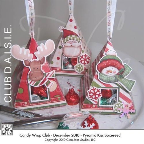 Nugget Gift Ideas Apparel: Christmas Printable Candy Boxes, Candy Bar