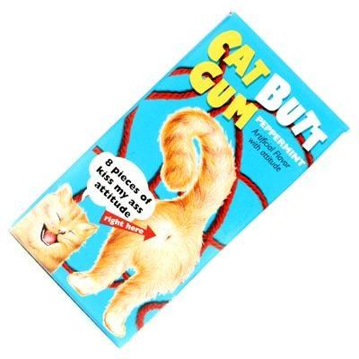 Cat Butt gum $1.40