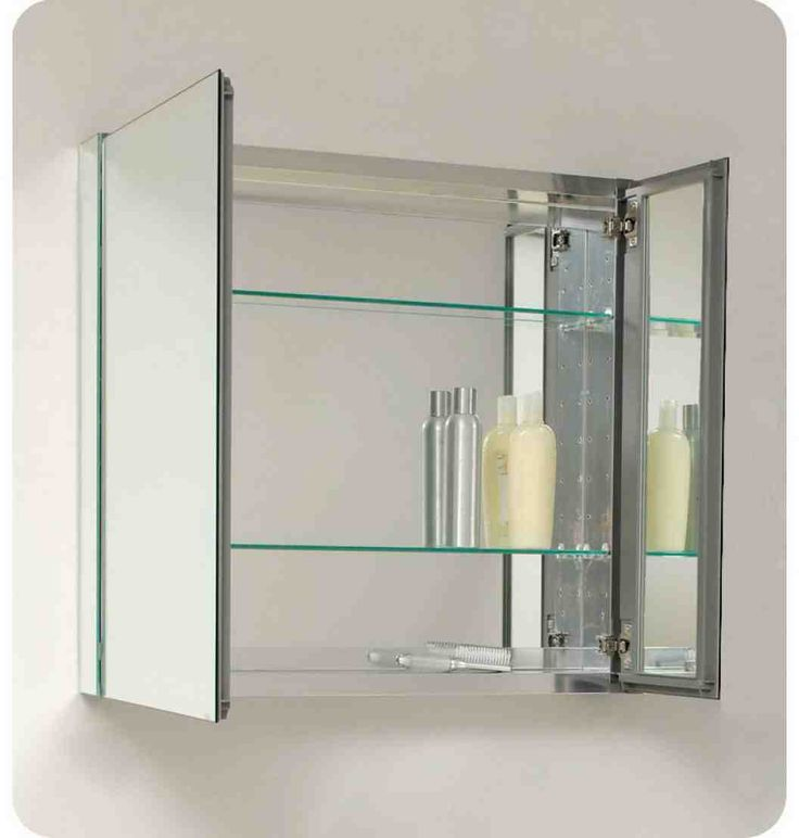 17 best ideas about bathroom mirror cabinet on pinterest for Floor standing mirrored bathroom cabinet