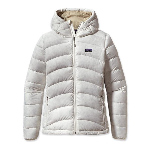 Discount Sale 2016 - Womens Patagonia Hi-Loft Down Sweater Hoody Birch White