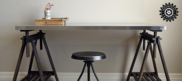 Ikea Table Project 2 Ikea Finnvard Trestle With Shelf In