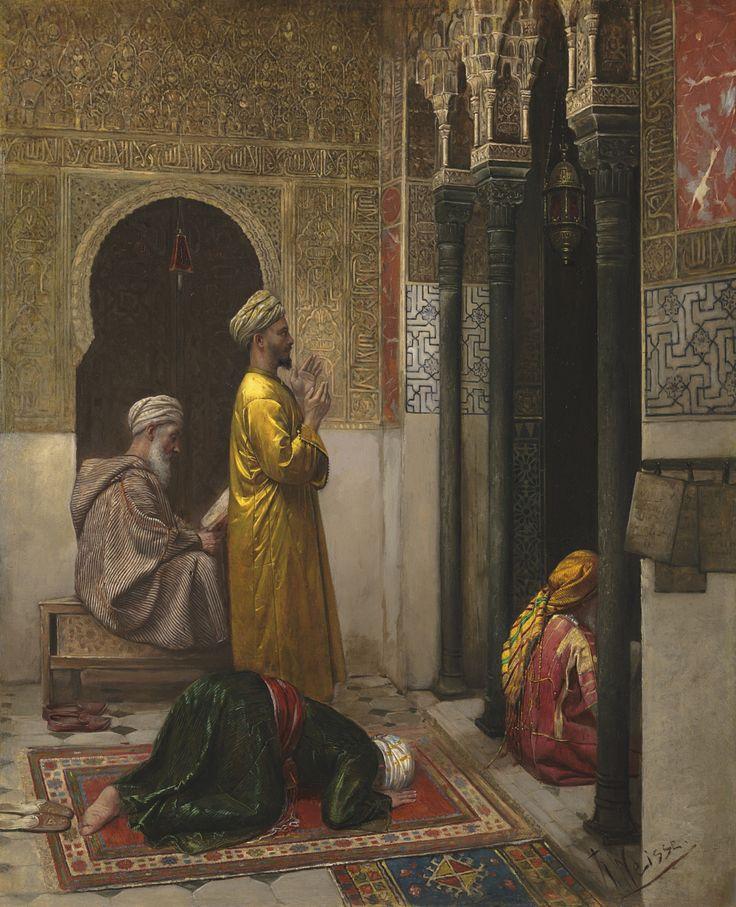 A Moment of Prayer, Rudolf Weisse