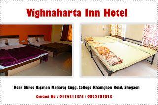 Vighnaharta Inn Hotel: Vighnaharta Hotel Dormitory rooms in Shegaon http://vighnahartainn.com/