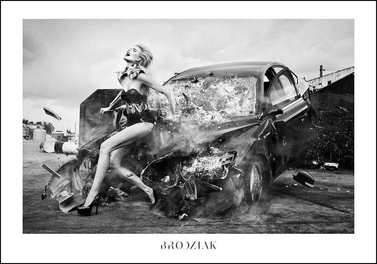 Szymon Brodziak, Poster #5  #photoinspirations #artisticphotography #artmarket #limitededition #artistoftheday #photography #fineart #collectorsphotography #buyart  #black&white #woman #crash