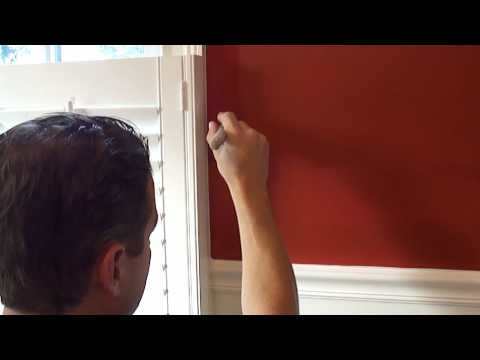 How to paint a room part 4 how to paint a straight for Straight line interiors