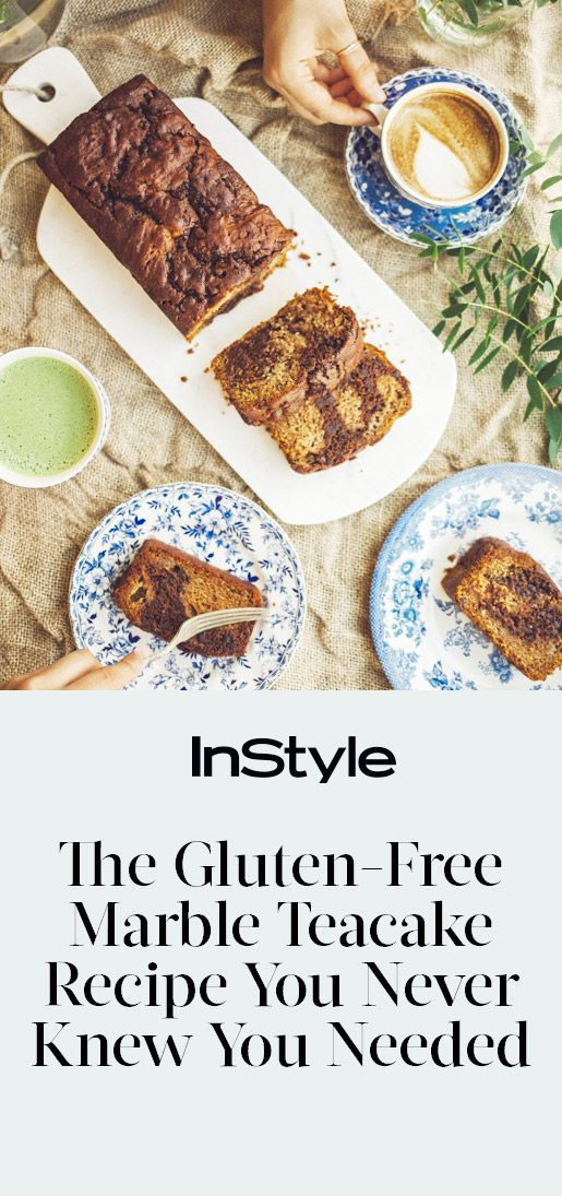 A Banana Marble Teacake Recipe So Good, You Won't Believe It's Gluten-Free from InStyle.com