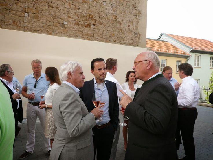 QL Gathering 2015 - Enjoying the drinks in Hotel Meisenheimer Hof