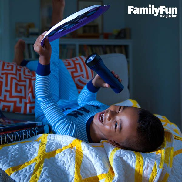 Star Power: By flashlight or daylight, this supercool tool for learning about constellations will turn your kid into a night-sky whiz.
