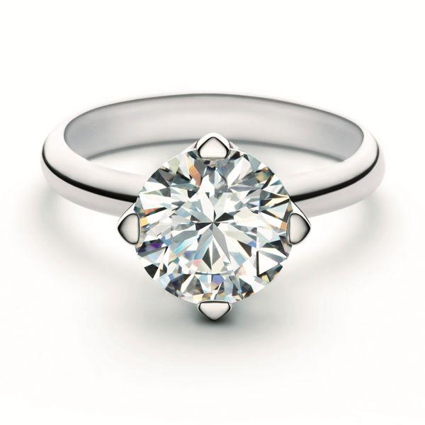 フォーエバーマーク セッティング® コレクション ソリティア リング - FOREVERMARK(フォーエバーマーク)の婚約指輪(エンゲージメントリング)爪ありのエンゲージリング・婚約指輪を集めました♡
