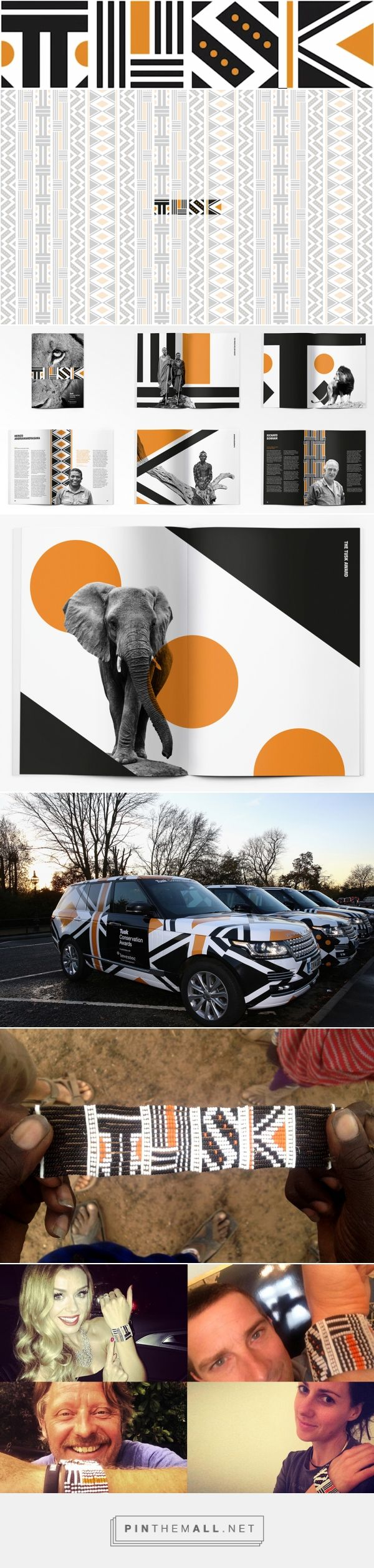 New Logo and #Identity for Tusk Conservation Awards by The Partners
