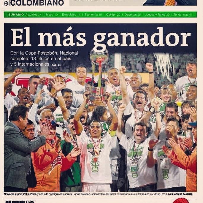 #AtleticoNacional #campeon #ReydeCopas