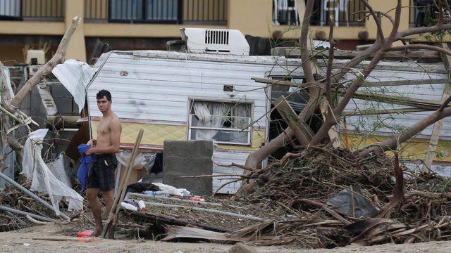 Catastróficos han sido los daños causado por el huracán Odile en México