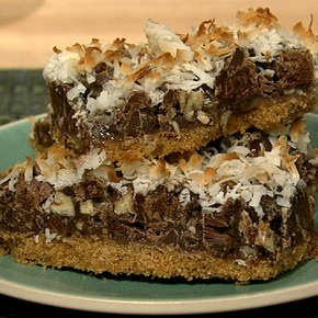 Carla Hall's Magic Bars #thechew