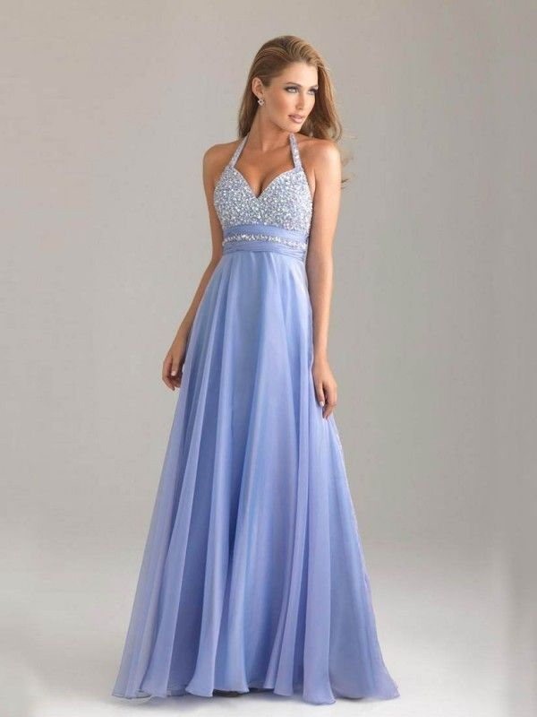 2016 prom dress long, halter backless prom dresses