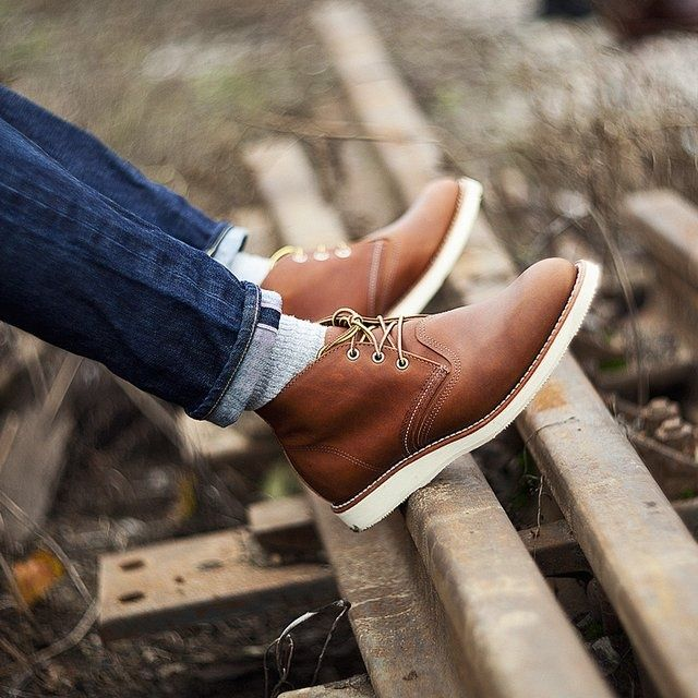 Work Chukka boots by Red Wing Heritage. Made in Minnesota, USA