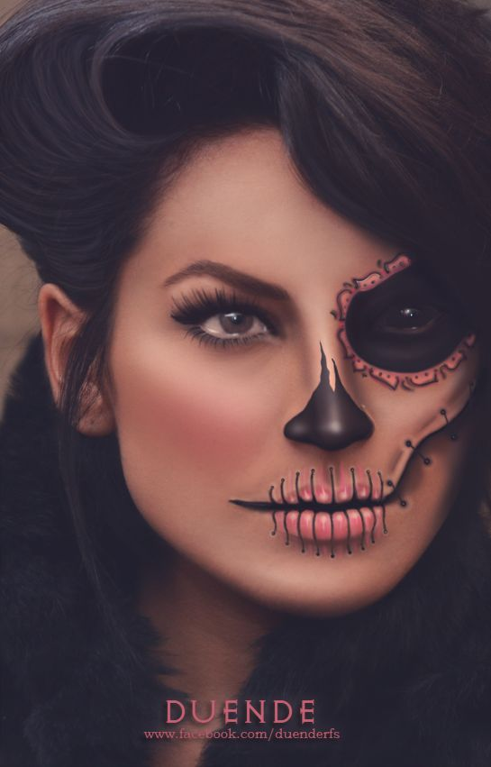 Sugar skull Make up By Duende  www.facebook.com/duenderfs