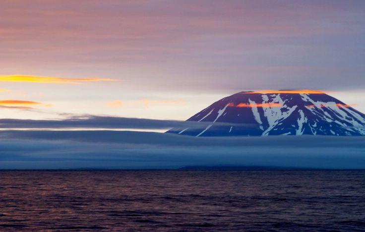 Le détroit de Béring et les îles Aléoutiennes