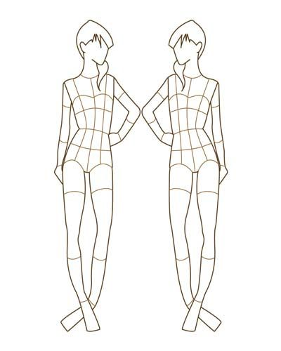35 best Croqis images on Pinterest Fashion drawings, Drawing - fashion designer templates