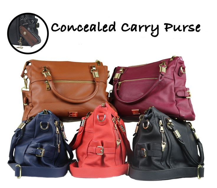 Add some flair to your style as you ensure your personal safety. The concealed carry J. Dawn concealment purse is back with new colors and locking zippers!
