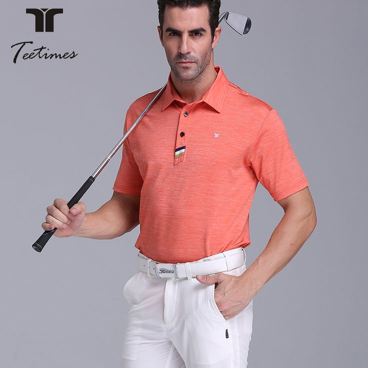 Top quality cation shirt men's golf clothing short-sleeve shirt quick-dry breathable easy care male top shirt uniforms