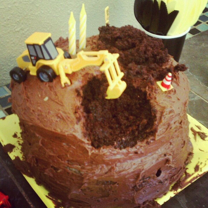 Bulldozer Cake Birthday Ideas Pinterest Cakes And