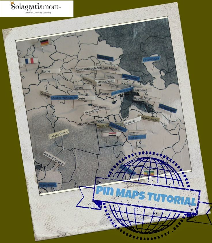 Delta Ohio Map%0A Solagratiamom  Pin Maps Tutorial