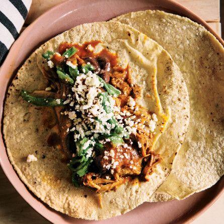 Turkey Barbacoa Tacos with Black Beans Recipe