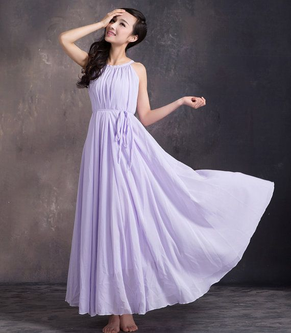 Plus size maxi dresses lavender maxi dress summer dress for Loose fitting wedding dresses