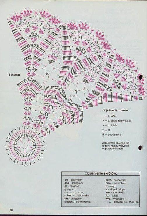 138 mejores imágenes de Diagrama crochet 1 en Pinterest   Punto de ...