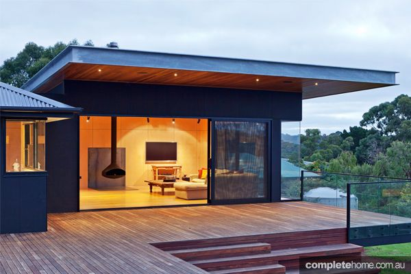 From an uninhabitable dwelling to an award winning abode for Colorbond home designs