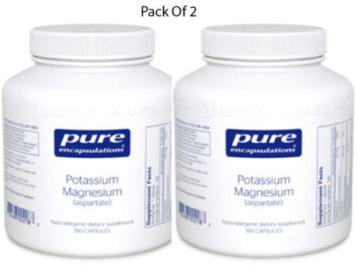 Pure-Encapsulations-Potassium-Magnesium-aspartate-180VCaps-2-PACK-Exp-2-18-SD