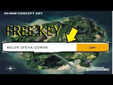 pubg pc key free