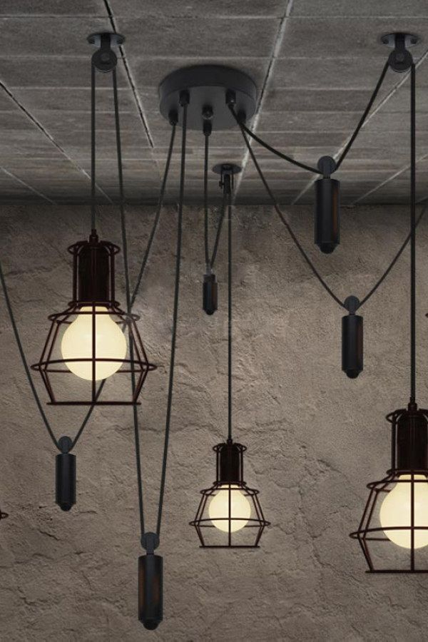 50 Easy Industrial Lighting Fixture Projects To Complete Your