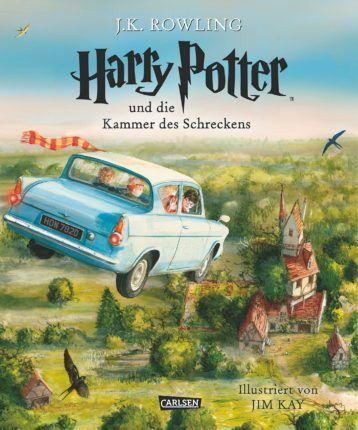 """J.K. Rowling & Jim Kay - """"Harry Potter und die Kammer des Schreckens"""" Schmuckausgabe (German Edition)    ET: 6. Oktober 2016 im Carlsen Verlag"""